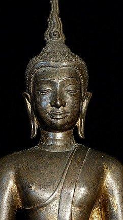 Antique Utong-C Thai Buddha