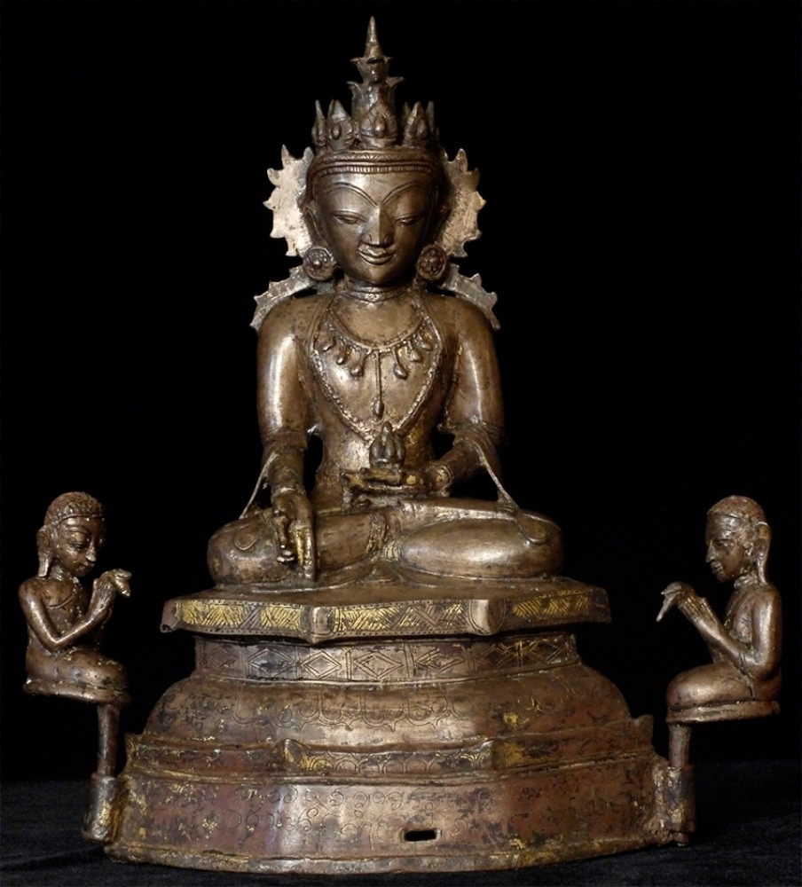 15-16th century Burmese Arakan Buddha from Burma
