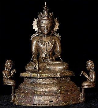 15-16th century Burmese Arakan Buddha