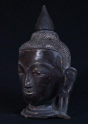 Lacquer Buddha head