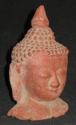Old Buddha head