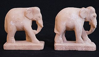 Antique set of elephants