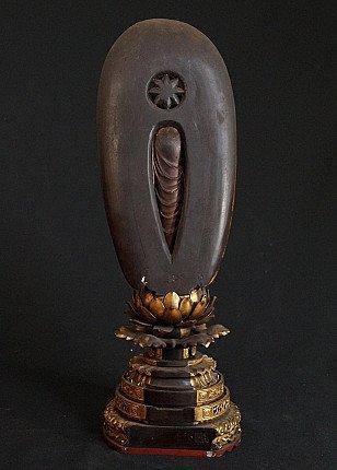 Antique Japanese Amida Buddha