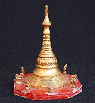 Antique Burmese Pagoda