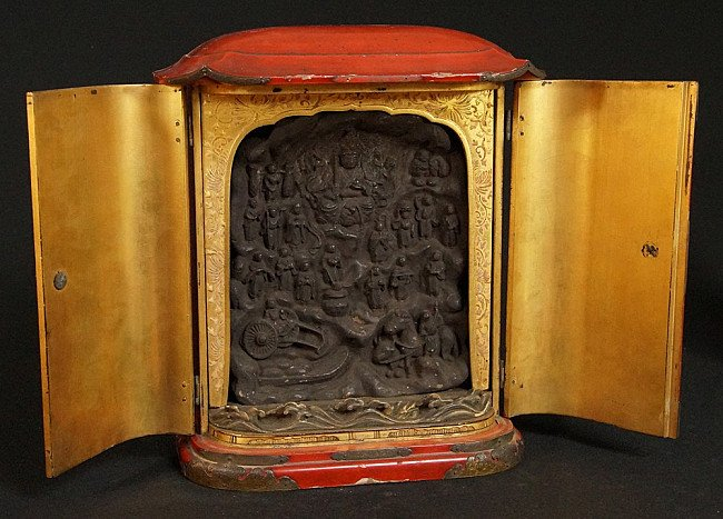 Antique Japanese Shrine