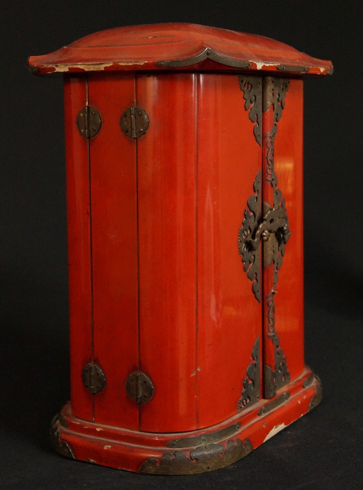 Antique Japanese Shrine from Japan made from Wood