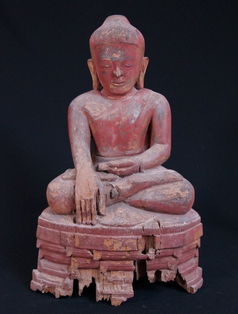 14-15th century Late Pagan Buddha from Burma