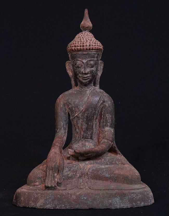Antique Inwa Buddha