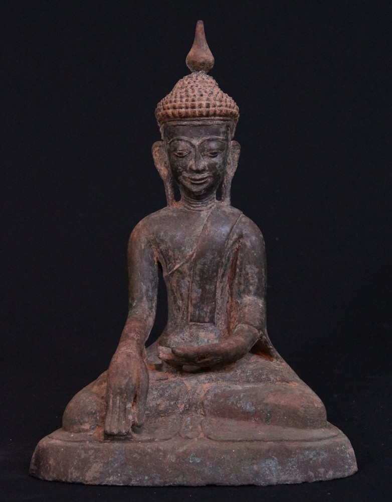 Antique Inwa Buddha from Burma