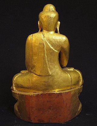 Antique goldplated Buddha