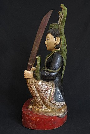 Antique Burmese Nat - spirit