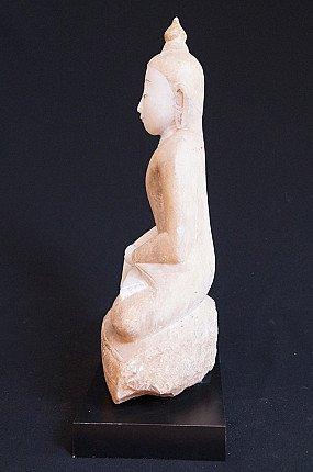 Antique marble Buddha