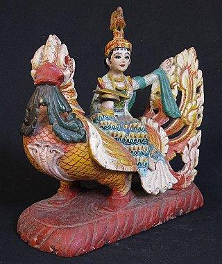 Antique Brahman bird
