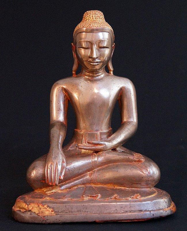 Bronzen Arakan Boeddha