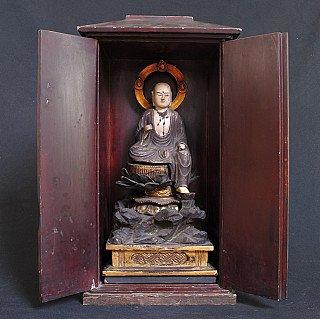 Antique Japanese Shinto shrine