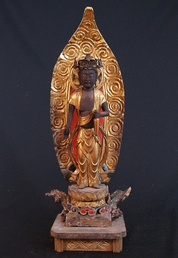 Antique Japanese Guan Yin