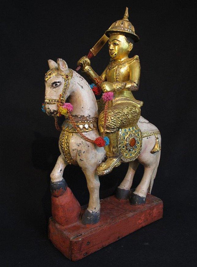 Antique Burmese Spirit - Nat