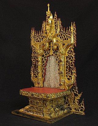 Antique Buddha shrine