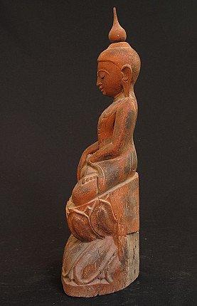 Old Ava Buddha statue