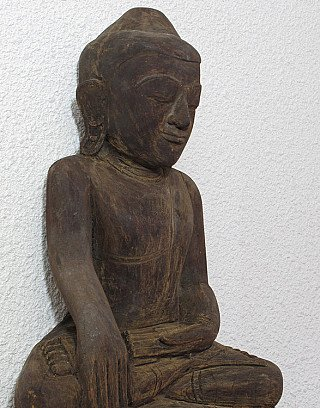 Antique hanging Buddha