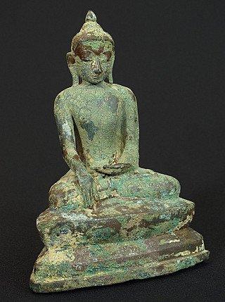 Antique bronze Ava Buddha