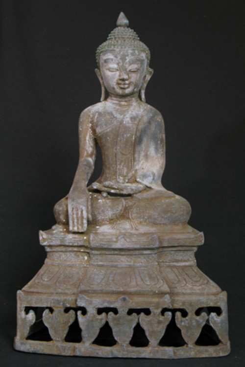 Old sitting Buddha from Burma