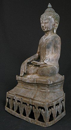 Old sitting Buddha