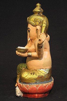 Old wooden Ganesha