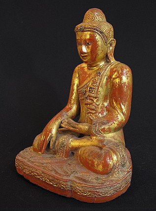 Antique Myanmar Mandalay Buddha