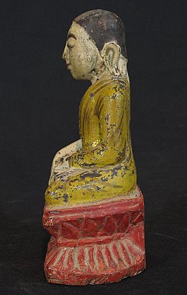 Antique monk