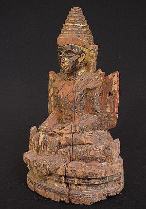 Antique Arakan Buddha