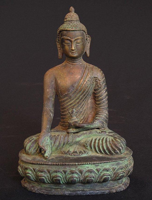 New bronze Buddha