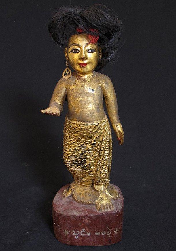 Antique Burmese Nat