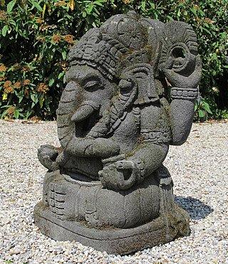 Old lavastone Ganesha