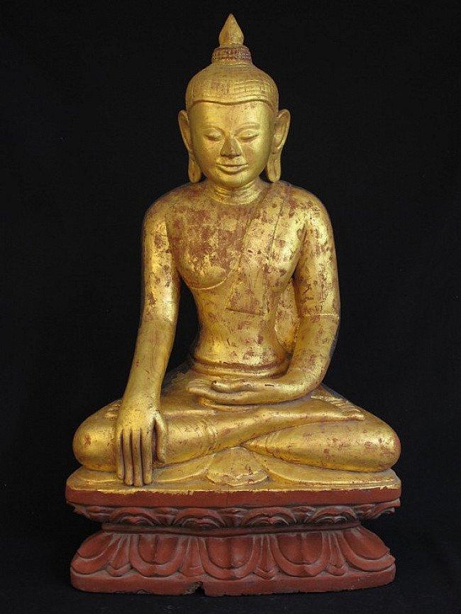 Antique Myanmar Buddha