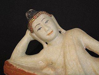 Antique reclining Buddha