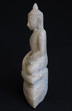 Antiek Boeddhabeeld - Ava periode