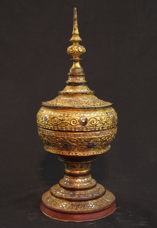 19th century Burmese offering vessel from Burma