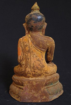 19e eeuwse Birmese Boeddha