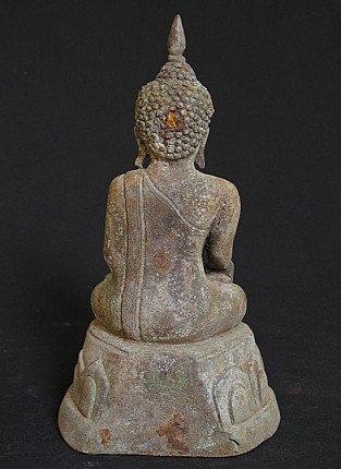 Old bronze Buddha