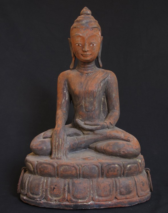 Antique Burmese Ava Buddha from Burma