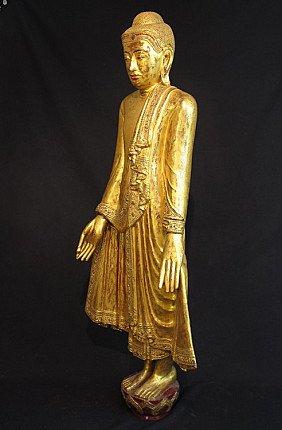 19 Jahrhundert Mandalay Buddha