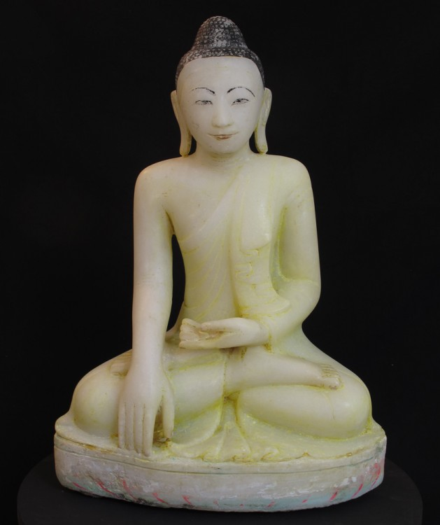 Antique Mandalay Buddha from Burma