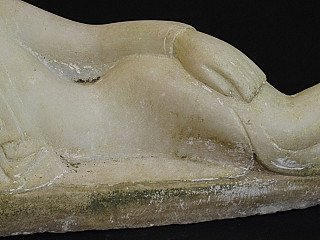 19th century reclining Buddha