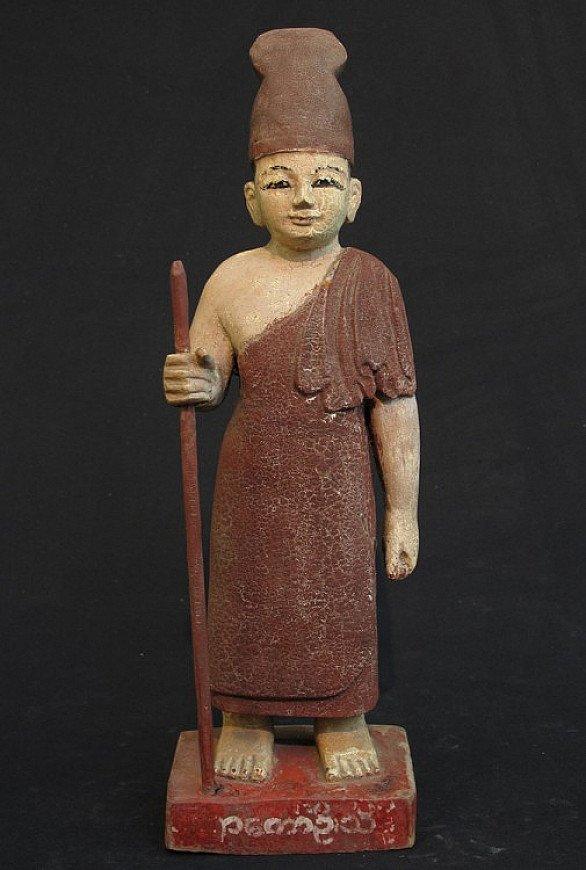 Antique Burmese saint