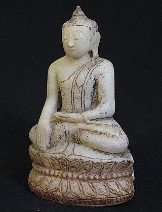 Antique Alabaster Buddha