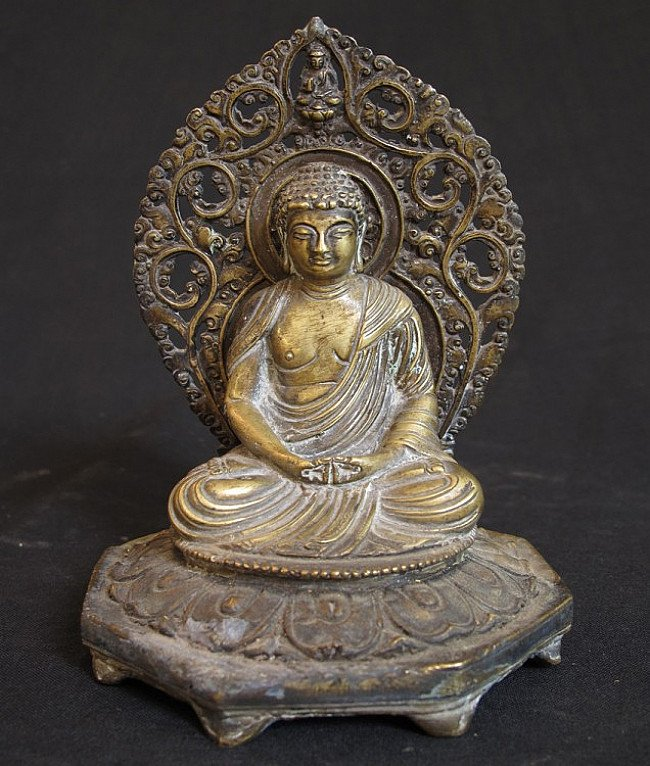 Antique Japanese Buddha