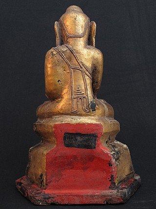 Antique lacquerware Buddha