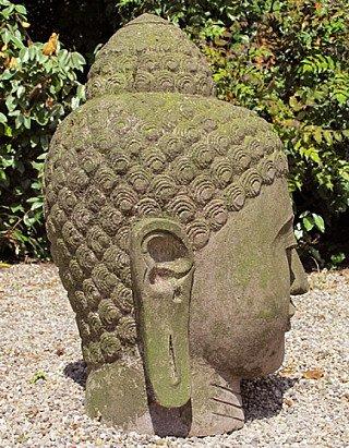 Lavastone Buddha head