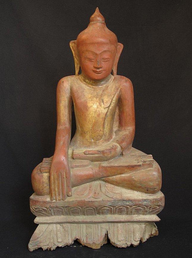 Antieke Ava Boeddha